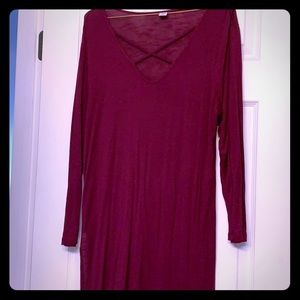 Old navy crisscross tunic